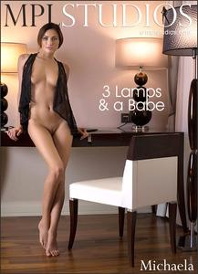 MPLStudios - Michaela Isizzu - 3 Lamps & a Babe