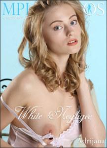 MPLStudios - Adrijana - White Negligee